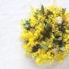 2月15日(水)花雑貨caillou(カイユゥ)ミモザのリース作りのWS