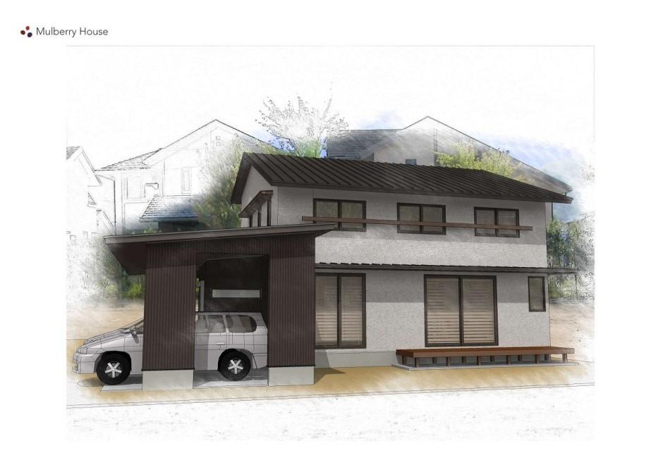 <終了しました> 3/2・3 ガレージ付き木造二階建て住宅 見学会