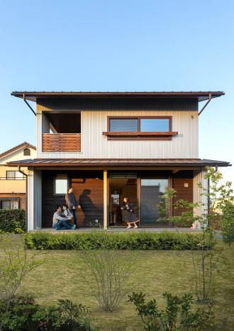連理木の家