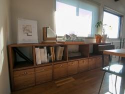 ナチュラルテイストの寝室にオーク材のベッド ~浜松市の新築一戸建て注文住宅 マルベリーハウス