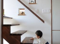子育て・家事で培った感覚を大切に、お家の説明をしています